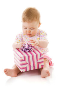 Baby with a Gifts