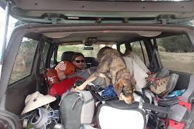 inside a truck